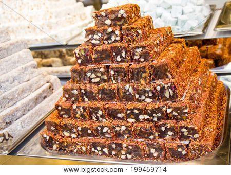 Traditional Turkish Delight Rahat Lokum
