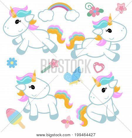 Set Of Unicorn