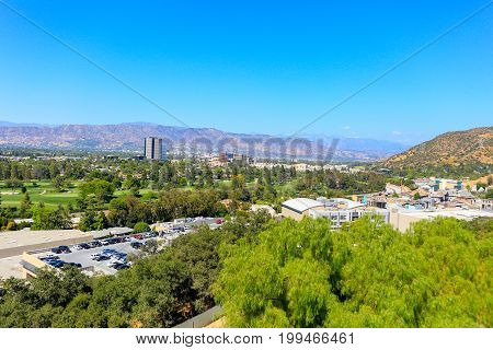 Universal City, Ca - June 12, 2017: View Of Universal Studios In Los Angeles