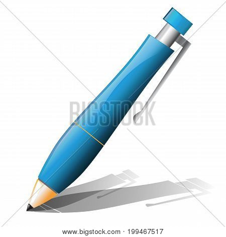 Ballpoint pen icon on a white background.