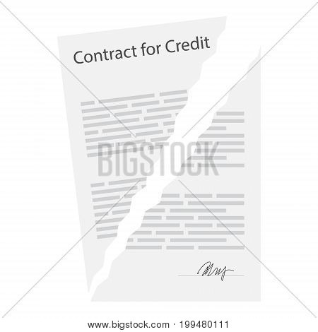 Terminated Business Contract