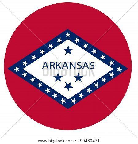 Arkansas Flag Vector