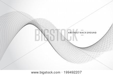 Vector abstract geometric background. Grid construction. For business, science, technology design