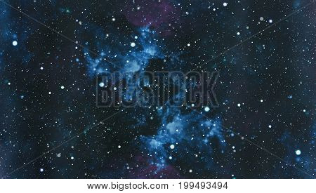 Deep space. High definition star field background . Starry outer space background texture . Colorful Starry Night Sky Outer Space background