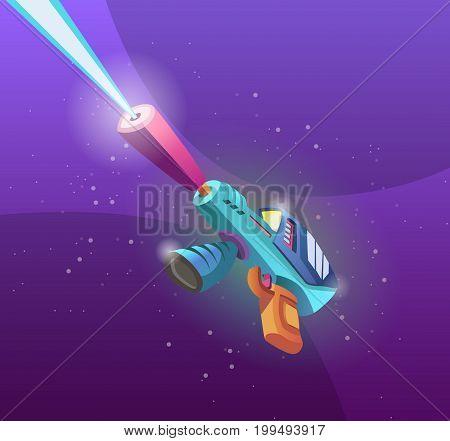 alien weapons, future, element for design games development