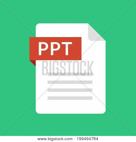 ppt file icon vector photo free trial bigstock