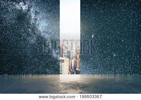 Opportunity And Imagination Concept