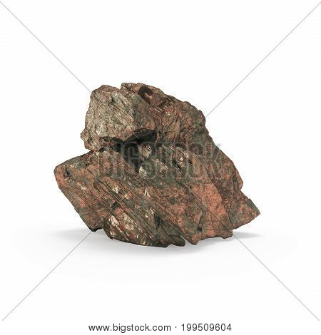 The Mineral Raw Materials 3D Rendering