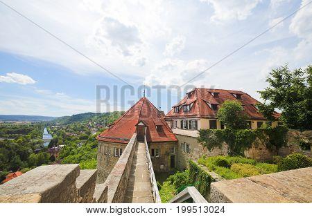 Hohentubingen Castle In Tubingen, Germany