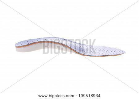 Orthopedic Insoles On White Background