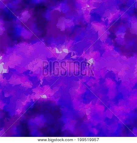 Violet Watercolor Texture Background. Beauteous Abstract Violet Watercolor Texture Pattern. Expressi