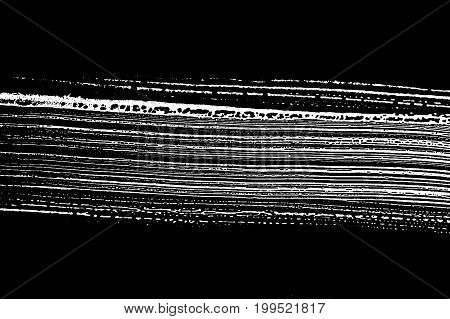 Grunge Soap Texture. Distress Black And White Rough Foam Trace Divine Background. Noise Dirty Rectan