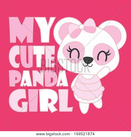 Cute Baby Panda My Vector Photo Free Trial Bigstock