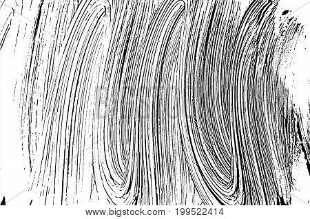 Grunge Soap Texture Invert. Distress Black And White Rough Foam Trace Bewitching Background. Noise D