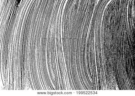 Grunge Soap Texture Invert. Distress Black And White Rough Foam Trace Uncommon Background. Noise Dir