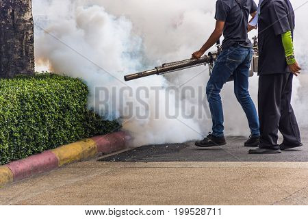 Fogging Ddt Spray Mosquito Kill For Virus Protect