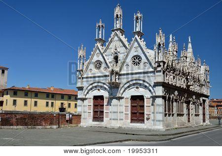 Church Santa Maria De La Spina, Pisa, Italy