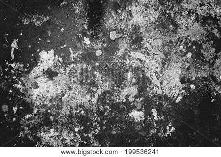 Texture of old rusty metal sheet, grungy rust metal plate monochrome texture background