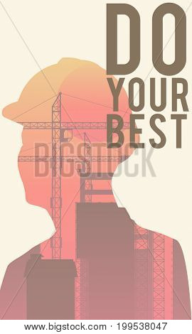 Do your best in illustration design