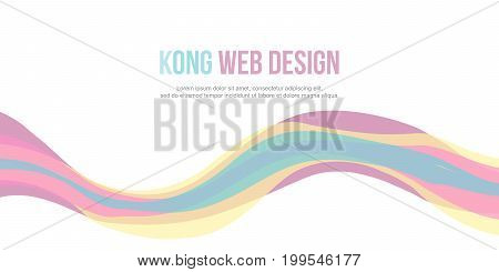 Abstract background website header simple design vector illustration poster