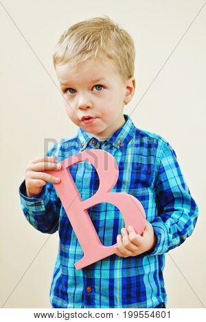 Toddler Blonde Boy