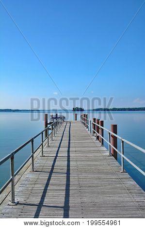 at Lake grosser ploener See in Holstein Switzerland,Schleswig-Holstein,Germany