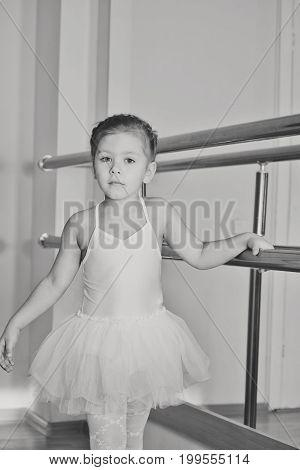 Girl In Dance School