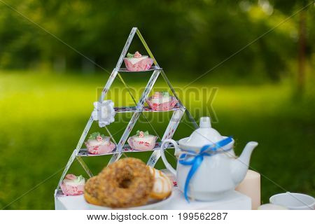 tea in the style of