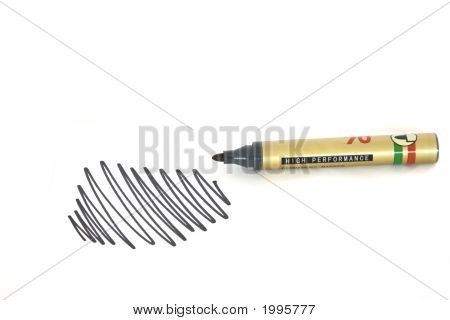 Permanent Marker With Scriibles
