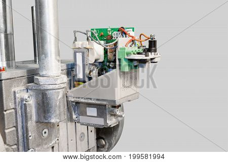 Industrial electronics. Gas valve unit. To supply gas to the burner.