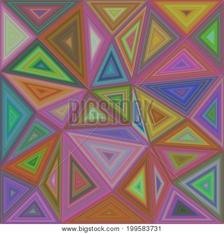 Colorful irregular vector triangle mosaic background design