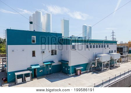 White air preparation plant Chemical production factory