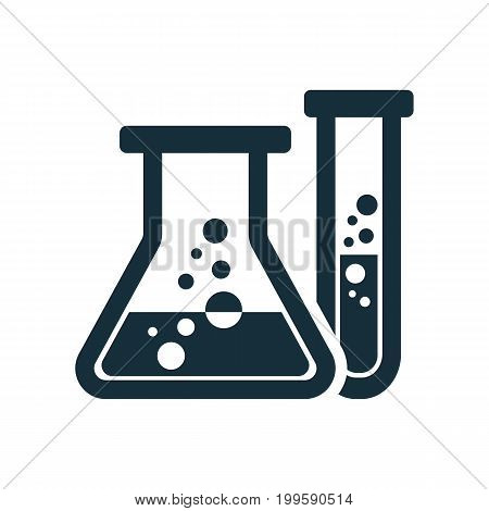 Laboratory Chemical Beaker Icon