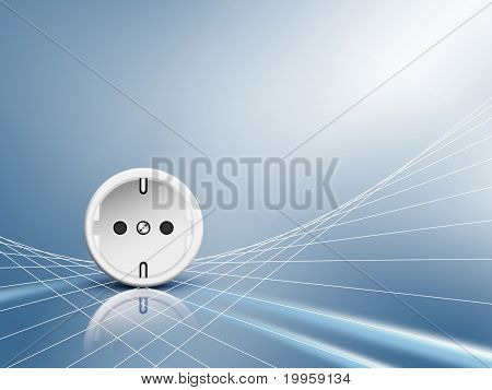 Electric energy - socket, outlet