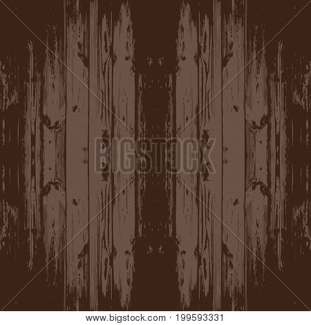 Seamless wooden texture. Wooden boards top view. Shabby old wooden background.