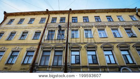 Old Buildings Located In Vyborg, Russia