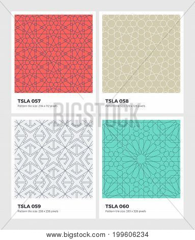 Tessellation-seamless-pattern-geometry-background-vector-texture-15