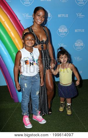 LOS ANGELES - AUG 10:  Christina Milian, Guests at the True and the Rainbow Kingdom Series LA Premiere at the Pacific Theater At The Grove on August 10, 2017 in Los Angeles, CA