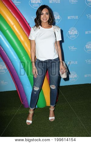 LOS ANGELES - AUG 10:  Courtney Lopez at the True and the Rainbow Kingdom Series LA Premiere at the Pacific Theater At The Grove on August 10, 2017 in Los Angeles, CA