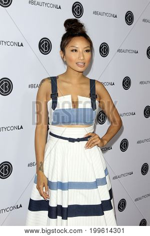 LOS ANGELES - AUG 12:  Jeannie Mai at the 5th Annual Beautycon Festival Los Angeles at the Los Angeles Convention Center on August 12, 2017 in Los Angeles, CA