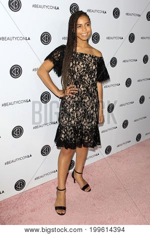 LOS ANGELES - AUG 12:  Asia Monet Ray at the 5th Annual Beautycon Festival Los Angeles at the Los Angeles Convention Center on August 12, 2017 in Los Angeles, CA
