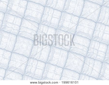 Soft grey modern abstract fractal art. Background illustration square pattern with irregular ridges. Creative graphic template for various projects and designs, book covers, advertising, layouts