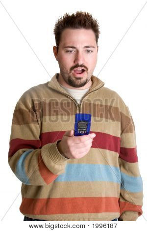 Camera Phone Man