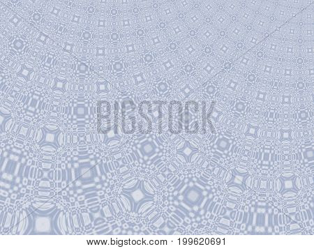 Fine grey modern abstract fractal art. Background illustration with a distorted detailed pattern resembling a curtain. Creative graphic template for various projects and designs, book covers, layouts