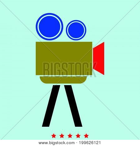 Cinematograph  It Is Color Icon .