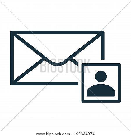Envelope Icon Flat Transparent Contact