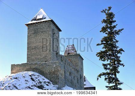 Castle Kasperk in Sumava mountains, Czech republic