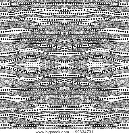 Abstract seamless doodle background. Illustration 10 version