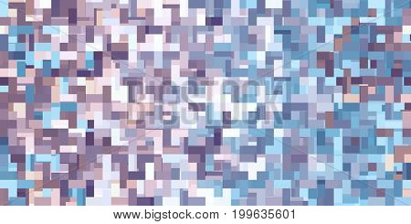 Abstract Background with Seamless Pixel Pattern Concept