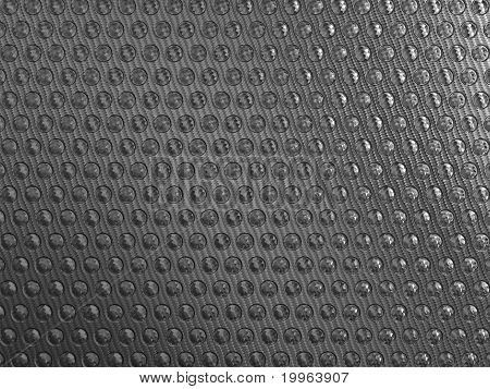 Carbon Fibre Background With Round Shapes